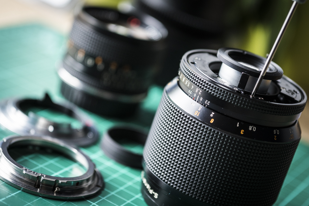 Choosing and Adapting Zeiss Contax